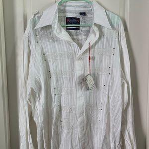Men's English Laundry Linen Shirt